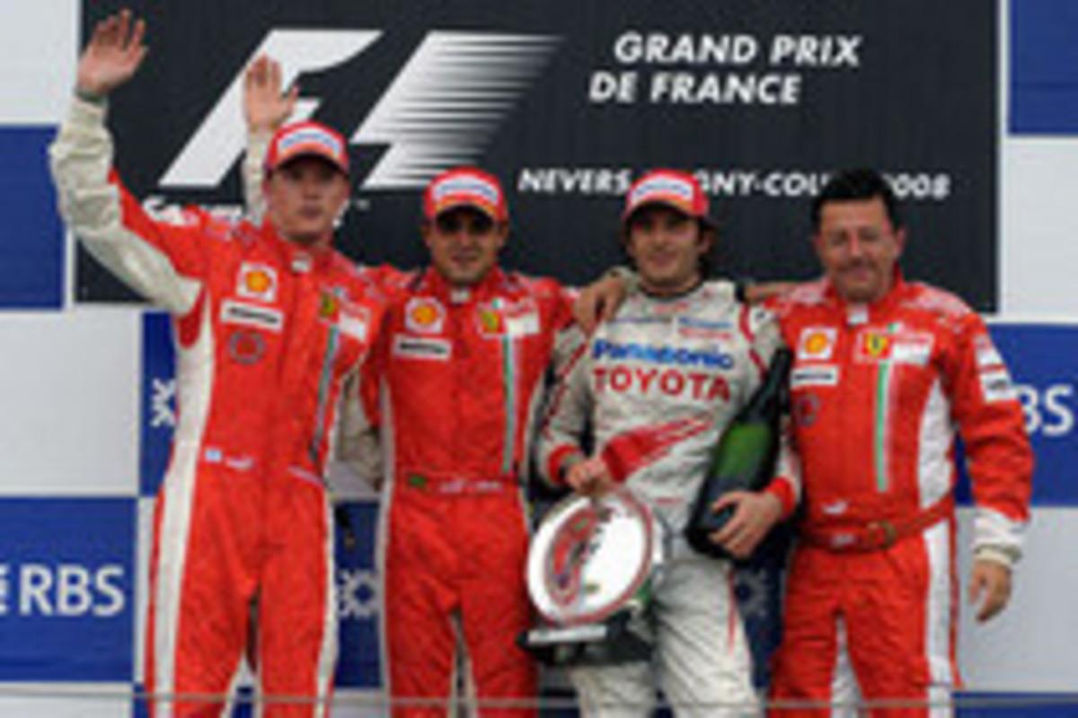第8戦フランスGP、マッサ優勝で...