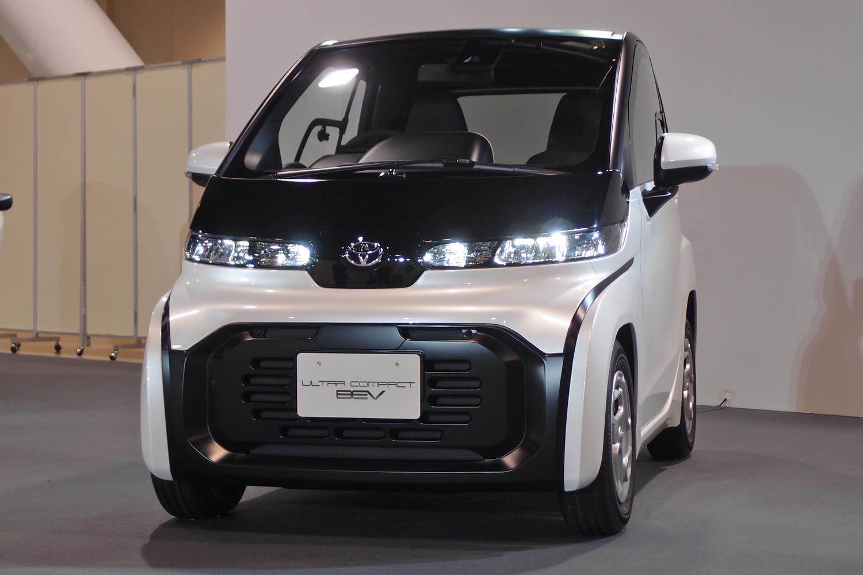 トヨタがモーターショーに6種類の\u201c小さなEV\u201dを出展 試乗可能な
