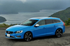ボルボS60 T4 R-DESIGN(FF/6AT)/V60 T6 AWD R-DESIGN(4WD/6AT)【試乗記】