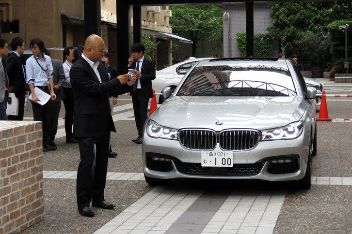 BMW : bmw 7シリーズ ハイブリッド 試乗 : webcg.net